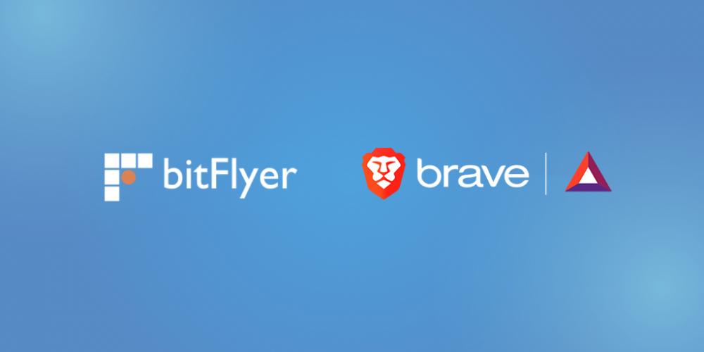 Partenariat entre Bitflyer et le navigateur Brave
